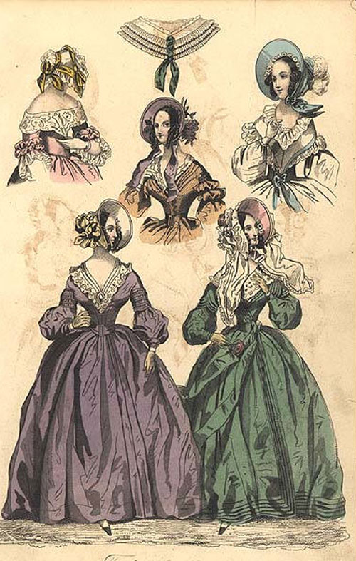 The Creative Doll: Early Victorian Fashions 1837 - 1860